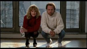 Harry: And the kitchen floor? Sally: Not once. It's this very cold, hard Mexican ceramic tile.