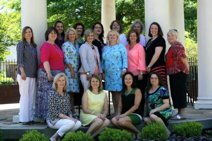 The Class of 1994 at The Columns on campus